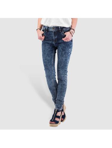Just Rhyse Damen High Waist Jeans High Waist in blau
