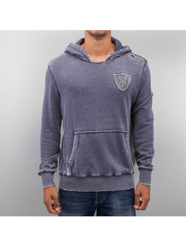 Just Rhyse Herren Hoody 007 in blau