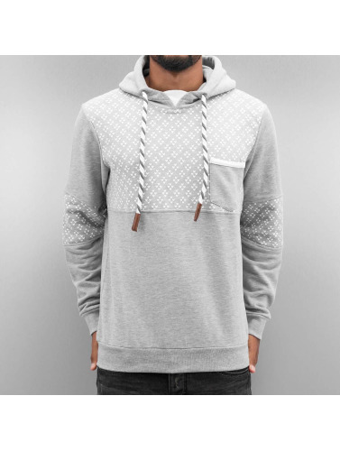 Just Rhyse Herren Hoody Hearts in grau