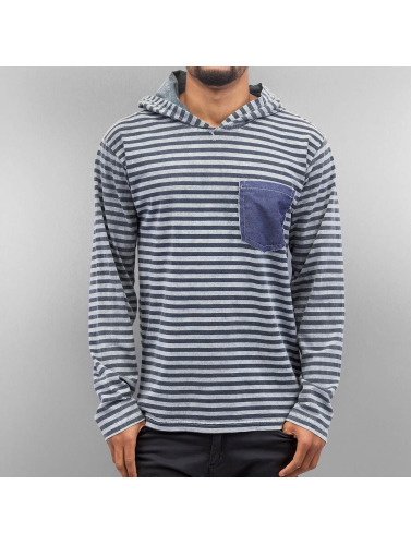 Just Rhyse Herren Hoody Stripes in grau