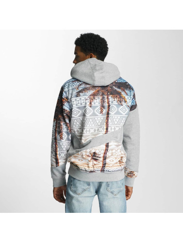 Just Rhyse Herren Hoody Fire Island in grau