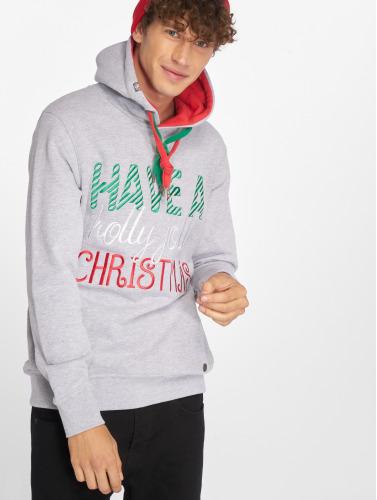 Just Rhyse Herren Hoody Christmas in grau