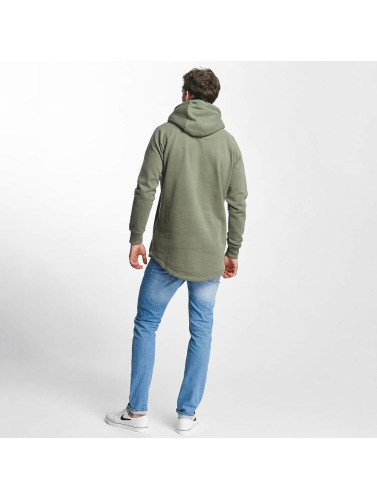 Just Rhyse Herren Hoody Long in olive
