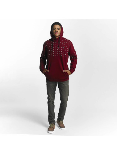 Just Rhyse Herren Hoody Thane in rot