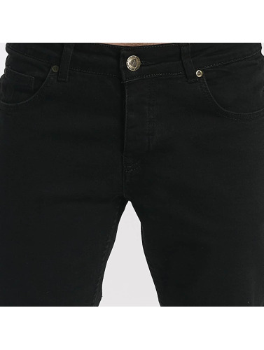 Ensenada Hombres Just in Rhyse ajustado Jeans negro ZIx45xP