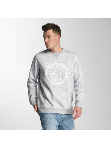 Just Rhyse Hombres Jersey Uganik in gris