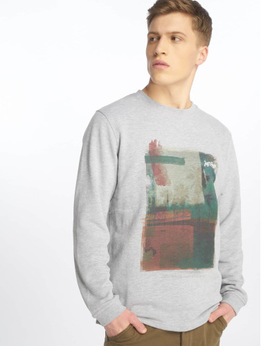 Just Rhyse Hombres Jersey Ayabaca in gris