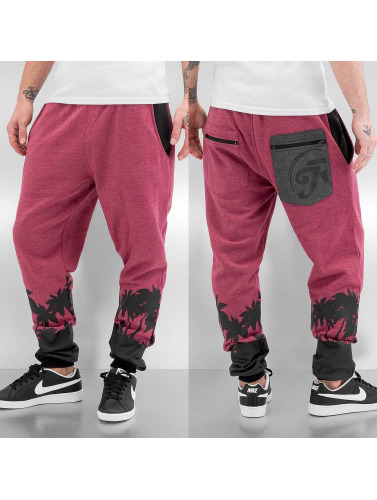 Just Rhyse Herren Jogginghose Palm Beach in rot