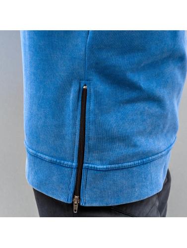 Just Rhyse Herren Pullover Zip in blau