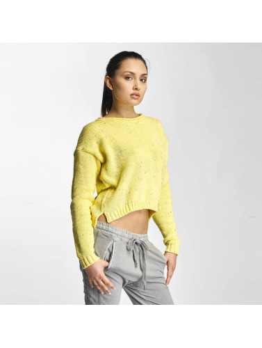 Just Rhyse Damen Pullover Janeville in gelb