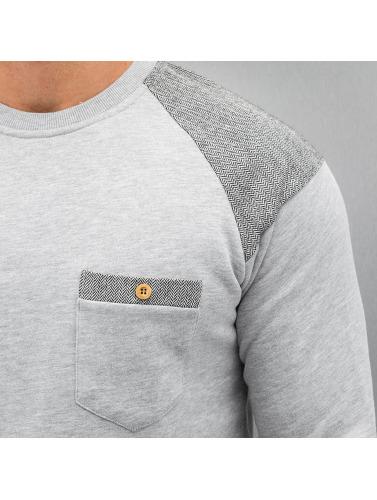 Just Rhyse Herren Pullover Tweed in grau Auslasszwischenraum Store Fabrikverkauf Günstiger Preis Wo Zu Kaufen Wbesnr6