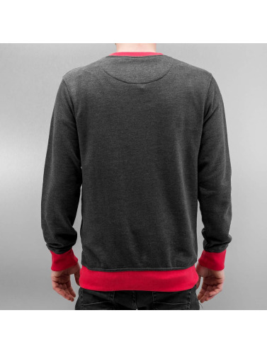 Just Rhyse Herren Pullover Northpole in grau