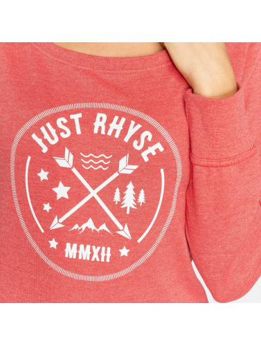 Just Rhyse Damen Pullover Our Time in rot