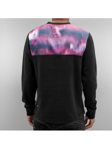 Just Rhyse Herren Pullover Nightlights in schwarz