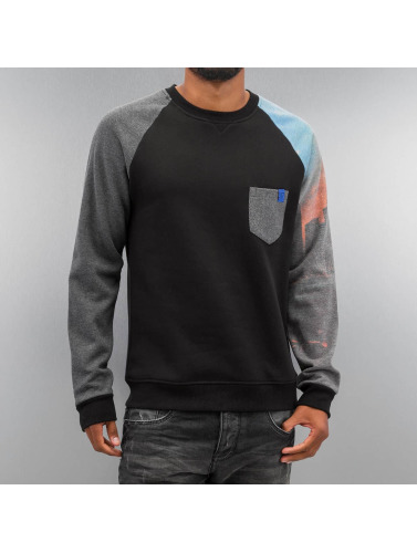 Just Rhyse Herren Pullover City in schwarz