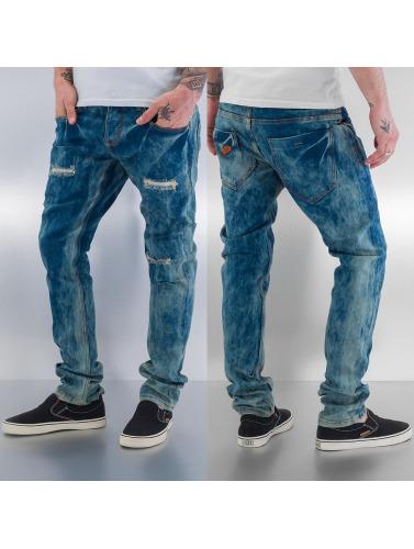 Just Rhyse Herren Skinny Jeans Skinny in blau