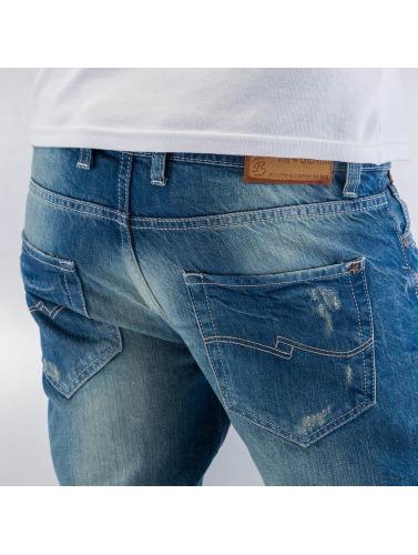Just Rhyse Herren Skinny Jeans We Denim in blau