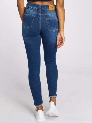 Just Rhyse Damen Skinny Jeans Buttercup In Blau