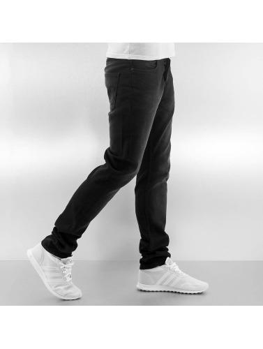 Just Rhyse Herren Skinny Jeans Loma in schwarz
