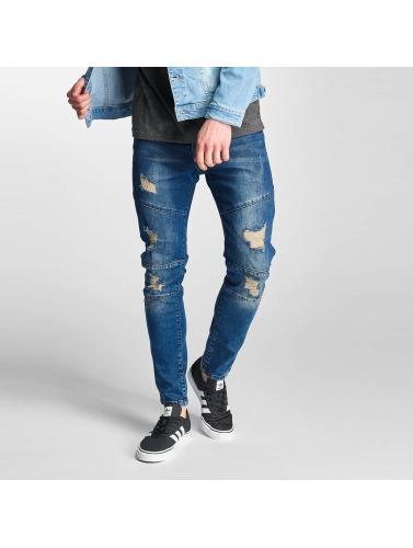 Just Rhyse Herren Slim Fit Jeans Holbox in blau
