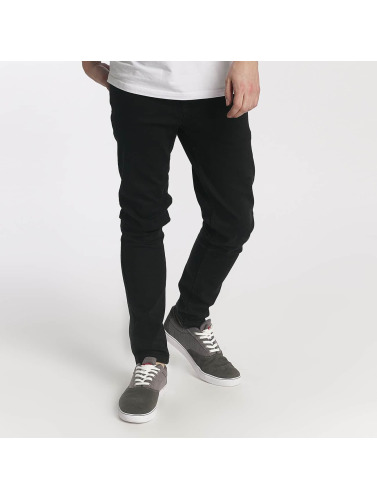 Just Rhyse Herren Slim Fit Jeans Ensenada in schwarz