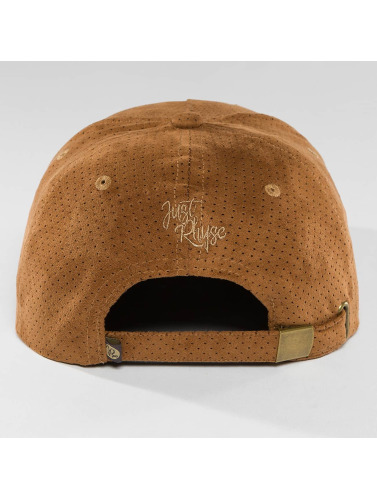 Just Rhyse Snapback Cap Tin City in braun