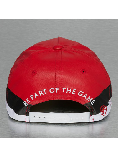 Just Rhyse Snapback Cap Fairhaven in rot