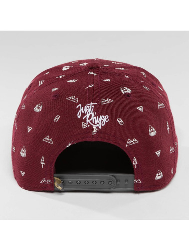 Just Rhyse Snapback Cap Nabesna Starter in rot