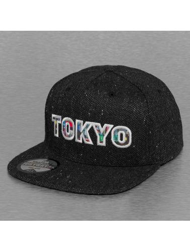 Just Rhyse Snapback Cap Tokyo in schwarz