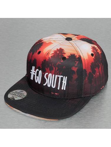 Just Rhyse Snapback Cap Go South in schwarz