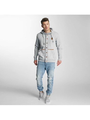 Just Rhyse Herren Strickjacke Petaluma in grau