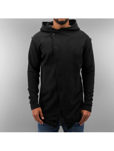 Just Rhyse Herren Strickjacke Era in schwarz
