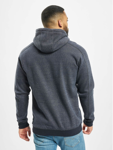 Just Rhyse Hombres Sudadera Clover Pass in azul