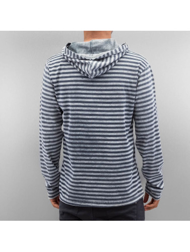 Hombres Sudadera Stripes gris Rhyse Just in nxvYYS
