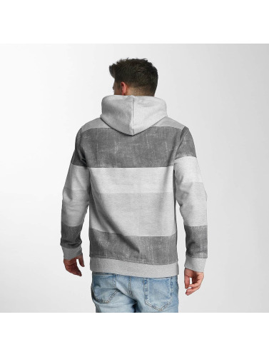 Just Rhyse Hombres Sudadera Kodiak Island in gris