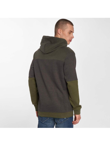 Just Rhyse Hombres Sudadera Waterfall in gris
