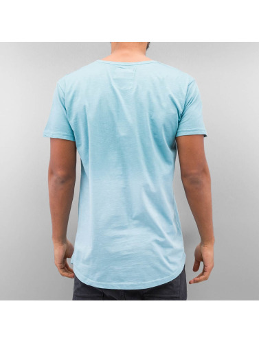 Just Rhyse Herren T-Shirt Batik in blau