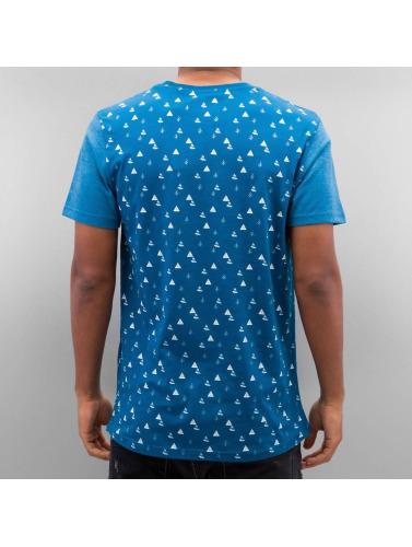 Just Rhyse Herren T-Shirt Tree in blau