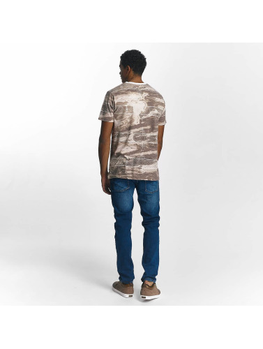 Just Rhyse Herren T-Shirt Tulelake in braun