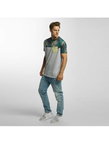 Just Rhyse Herren T-Shirt Mc Cloud in grau