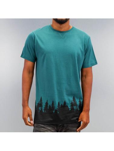 Just Rhyse Herren T-Shirt Wood in grün