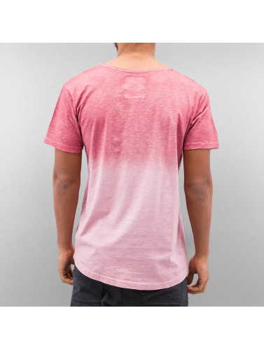 Just Rhyse Herren T-Shirt Batik in rot
