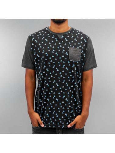 Just Rhyse Herren T-Shirt Fir in schwarz