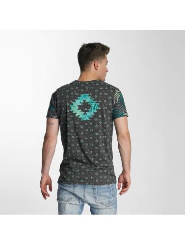 Just Rhyse Herren T-Shirt Lake Davi's in schwarz