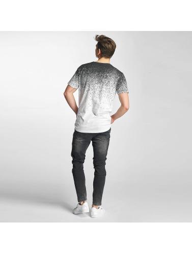 Just Rhyse Herren T-Shirt Splashes in weiß
