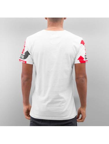 Just Rhyse Herren T-Shirt Signpost in weiß