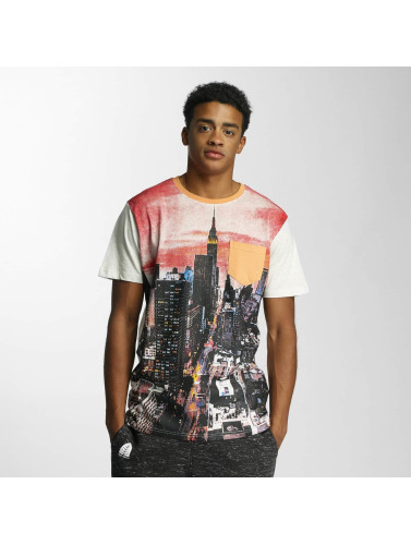 Just Rhyse Herren T-Shirt The NYC City in weiß