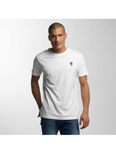 Just Rhyse Herren T-Shirt Gasquet in weiß