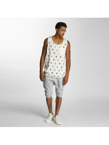 Just Rhyse Herren Tank Tops Eagleville in weiß
