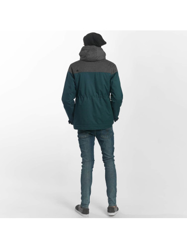 Just Rhyse Herren Winterjacke Warin in türkis